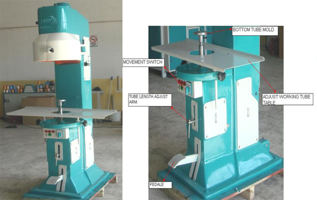 Paper Tube Cover Attaching Machinery