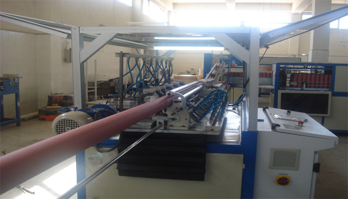Paper Tube Making and Finishing Machine by Full-Electronic System